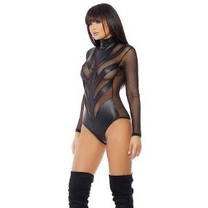 FORPLAY  Ride Out Long Sleeve Lingerie Bodysuit